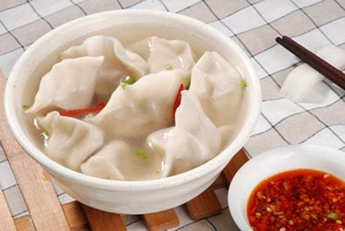 冬季养生食谱_羊肉水饺