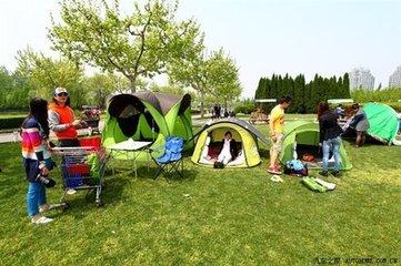 徒步野营地的选择及注意事项