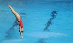 跳水体育运动深受喜爱