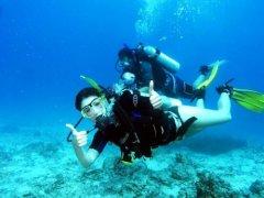 浮潜与水肺潜水的差异